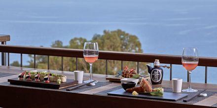 Restaurant på Hotel Grecian Park, Cypern.