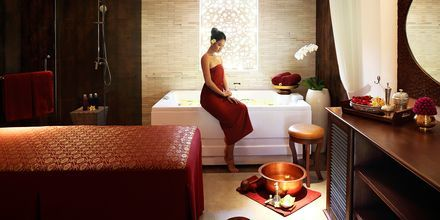 Spa på Hotel Griya Santrian på Bali, Indonesien.