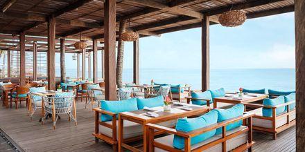 Restaurant på Hotel Griya Santrian på Bali, Indonesien.