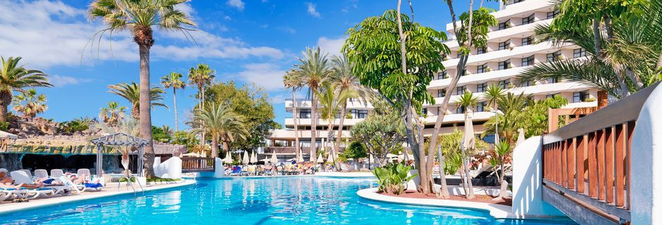 Poolen på Hotel H10 Conquistador på Tenerife.