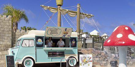 Snackbaren Daisy Truck på Hotel H10 Rubicon Palace i Playa Blanca på Lanzarote.