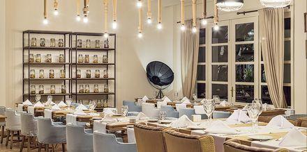 Den italienske a la carte-restaurant Dolce Vita på Hotel H10 Rubicon Palace i Playa Blanca på Lanzarote.