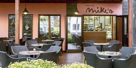 Caféen Mike's Coffee på Hotel H10 Rubicon Palace i Playa Blanca på Lanzarote.