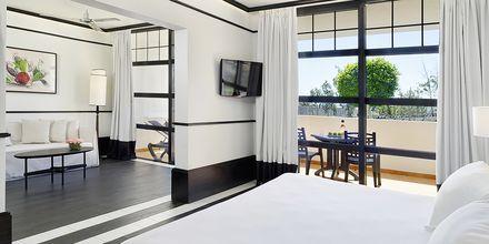 Junior-suite på Hotel H10 Rubicon Palace i Playa Blanca på Lanzarote.