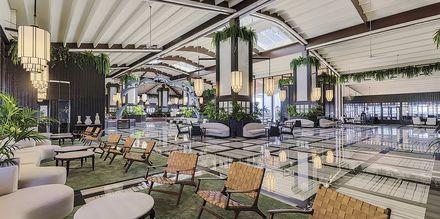 Lobby på Hotel H10 Rubicon Palace i Playa Blanca på Lanzarote.