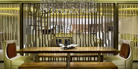 Buffetrestaurant på Hotel Habtoor Grand Resort Autograph Collection i Dubai
