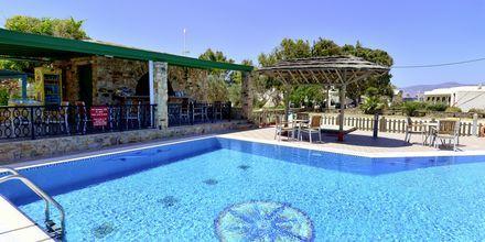 Poolområde på Hotel Harmony på Naxos i Grækenland.