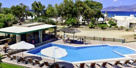 Udsigt over Hotel Harmony på Naxos i Grækenland.
