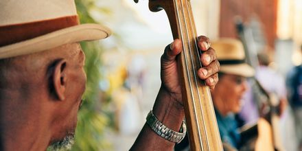 Gademusik i Havanna, Cuba.