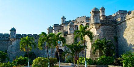 Slottet Los Tres Reyes Magos del Morro, Havana, Cuba.