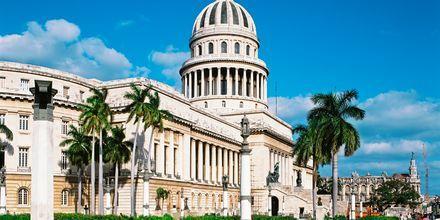 El Capitolio i Havanna, Cuba.