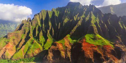 Øen Kauai er et spændende udflugtsmål på Hawaii.