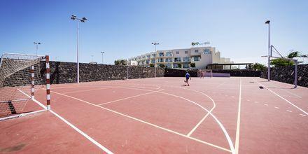 Tennis på Hotel HD Beach Resort på Lanzarote, De Kanariske Øer.
