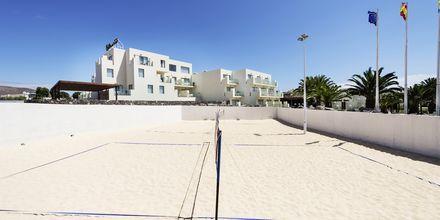 Beachvolley på Hotel HD Beach Resort på Lanzarote, De Kanariske Øer.