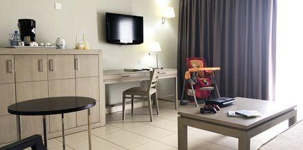 Familie-værelse på Hotel HD Beach Resort på Lanzarote, De Kanariske Øer.