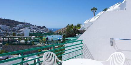 Balkon på Hotel Heliomar på Gran Canaria, De Kanariske Øer.