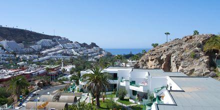 Udsigt fra Hotel Heliomar på Gran Canaria, De Kanariske Øer.