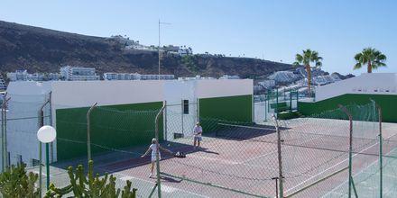 Tennis på Hotel Heliomar på Gran Canaria, De Kanariske Øer.