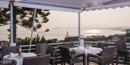 Restaurant på Hotel Hermes på Kreta, Grækenland.