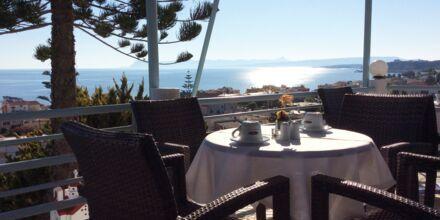 Hotel Hermes i Kato Stalos på Kreta