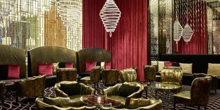 Loungebaren Blinq på Hilton Dubai al Habtoor City, Dubai.
