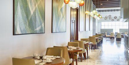 Buffetrestaurant The Market på Hilton Dubai al Habtoor City, Dubai.