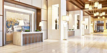 Lobby på Hilton Dubai al Habtoor City, Dubai.