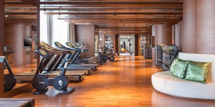 Fitnessrum på Hilton Dubai al Habtoor City, Dubai.