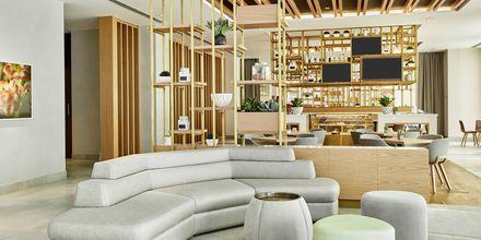 Lobbyen på Hotel Hilton Garden Inn Mall of the Emirates i Dubai Al Barsha i Dubai