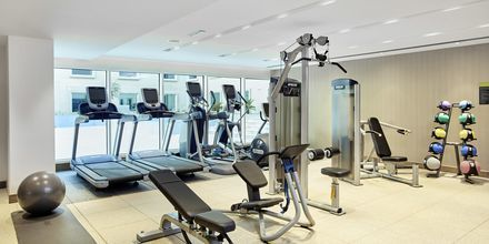 Fitnessrum på hotel Hilton Garden Inn Mall of the Emirates i Dubai Al Barsha i Dubai