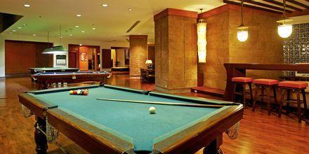 Billard på Hilton Hua Hin Resort & Spa, Thailand.