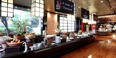 Morgenmadsbuffet på Hilton Hua Hin Resort & Spa, Thailand.