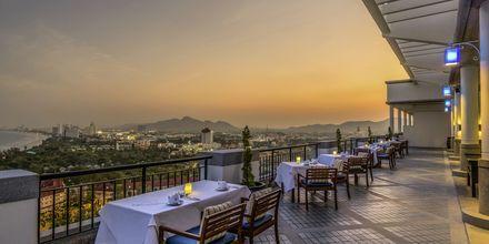 Skybaren White Lotus på Hilton Hua Hin Resort & Spa, Thailand.