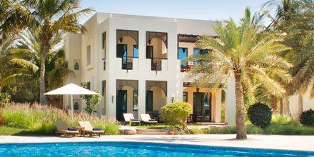 Deluxe-bungalow på Hotel Hilton Ras Al Khaimah Resort & Spa.
