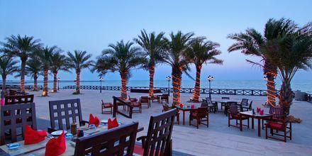 Restaurant Pura Vida på Hotel Hilton Ras Al Khaimah Resort & Spa i Ras Al Khaimah, De Forenede Arabiske Emirater.