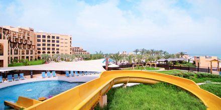 Børnepool på Hotel Hilton Ras Al Khaimah Resort & Spa i Ras Al Khaimah, De Forenede Arabiske Emirater.