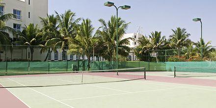 Tennisbane på Hilton Salalah Resort, Oman.