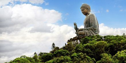 Tian Tan Buddha på Lantau Island.