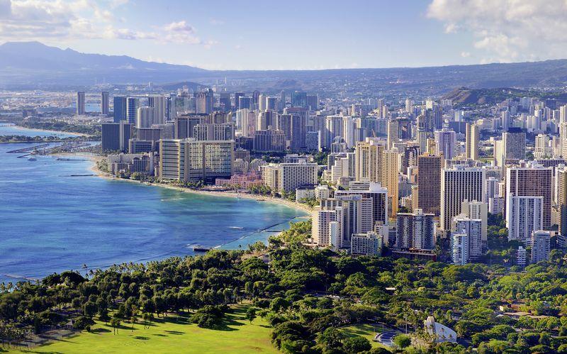 Honolulu er både Hawaiis største by og hovedstad.