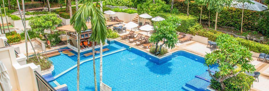 Poolen på Horizon Karon Beach Resort Club Wing, Phuket