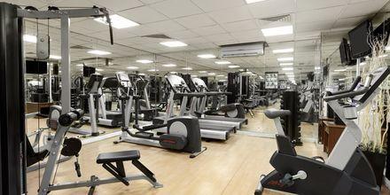 Fitnessrum på Hotel Howard Johnson i Bur Dubai.