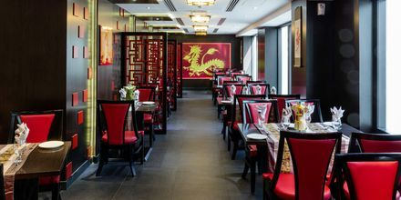Restaurant Red Dragon på Hotel Howard Johnson i Bur Dubai.