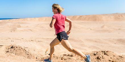 Løbetur i Hurghada.
