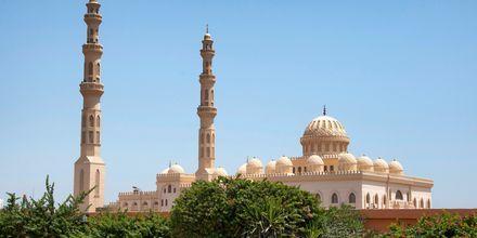 Moskéen El Mina Masjid i Hurghada,  Egypten.