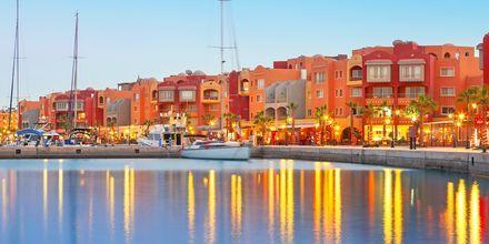 Marinaen i Hurghada, Egypten.