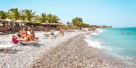 Strand ved Ialyssos & Ixia på Rhodos, Grækenland.
