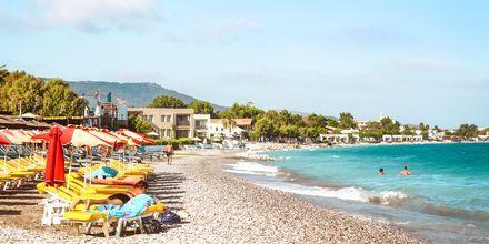 Skønne strande i Ialyssos & Ixia på Rhodos, Grækenland.