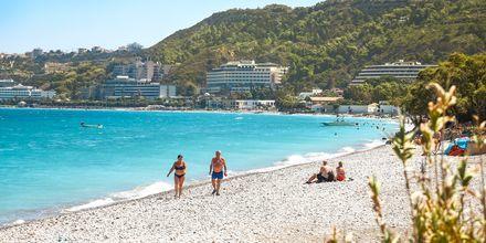 Stranden i Ialyssos/Ixia.