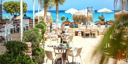Restaurant, Ialyssos & Ixia på Rhodos, Grækenland.