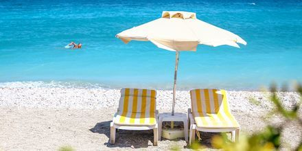 Strand, Ialyssos & Ixia på Rhodos, Grækenland.